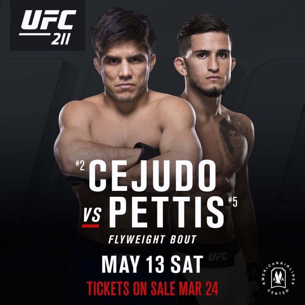 Two great fights added to UFC 211 -