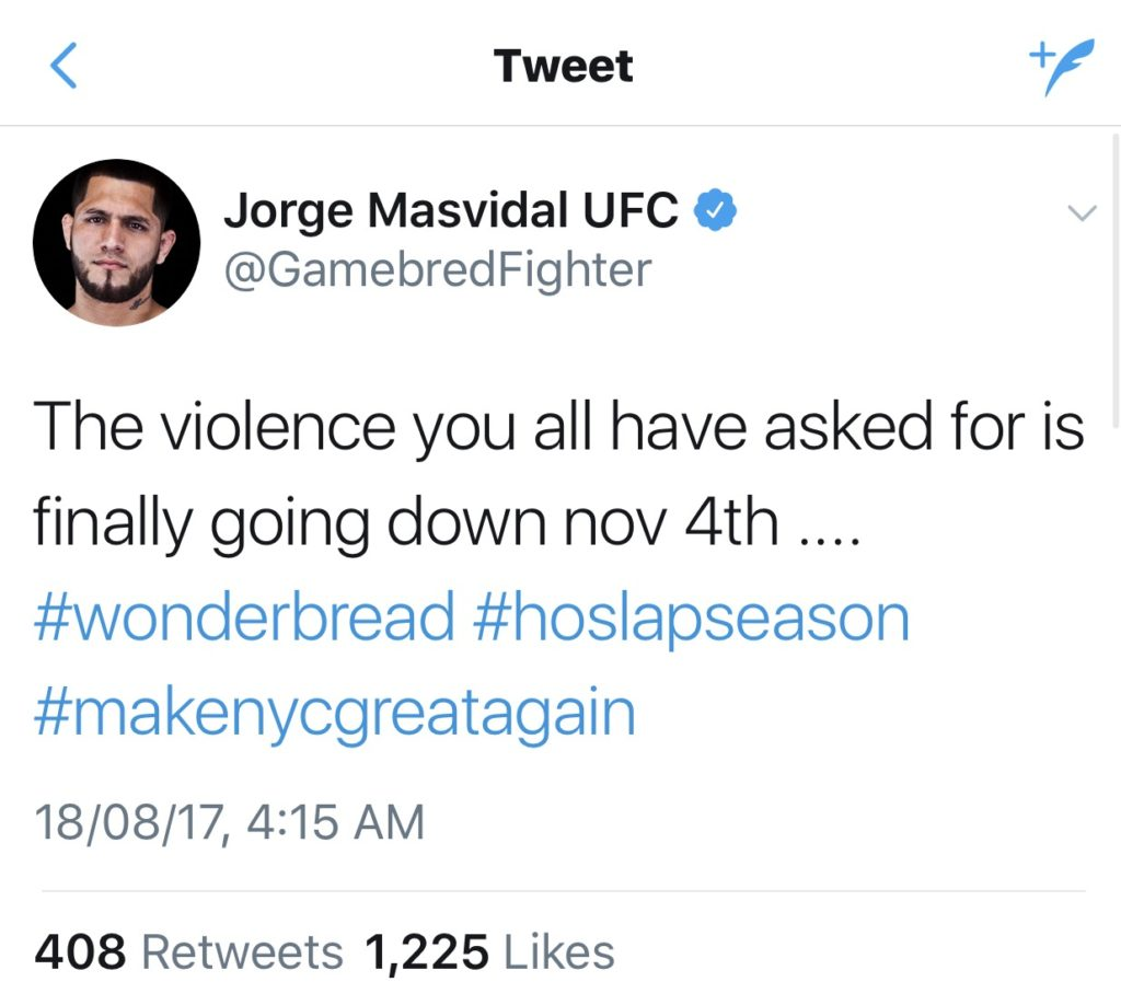 Stephen Thompson vs Jorge Masvidal at UFC 217 : Get ready for fireworks -