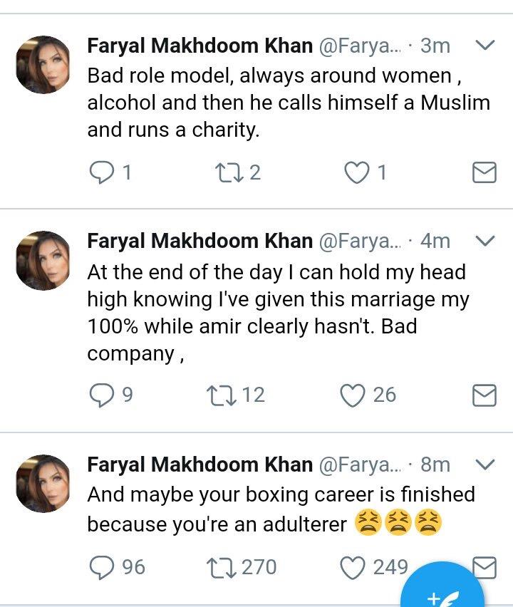 Ghar kee baat, ghar mein rehni chahiye. Amir Khan announces split from wife on twitter -