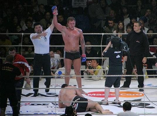 Russian MMA Fighter Released on Parole, Prepares for his Comeback Fight -