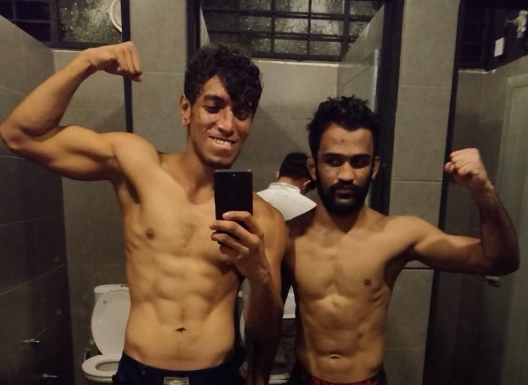 Rudransh and Navdeep win at Golden Warriors FC -