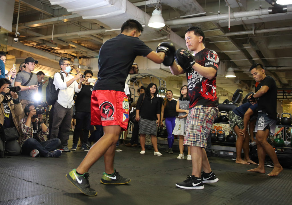 ONE CHAMPIONSHIP HOLDS OPEN WORKOUT FOR COMPETITORS OF ONE: TOTAL VICTORY -