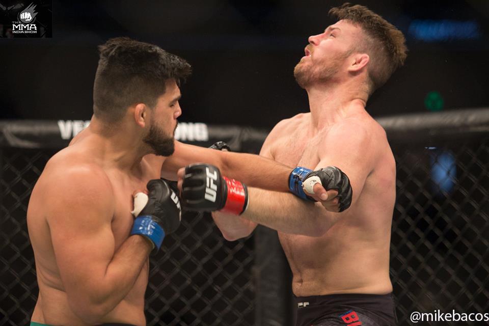UFC Fight Night 122: Gastelum continues his legend killing tour, Bharat Kandare loses on debut -