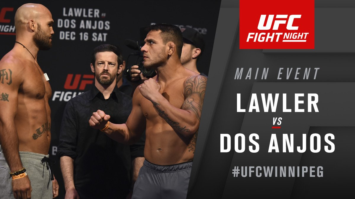 UFC on Fox 26 - Rafael dos Anjos vs. Robbie Lawler: Live results and review -
