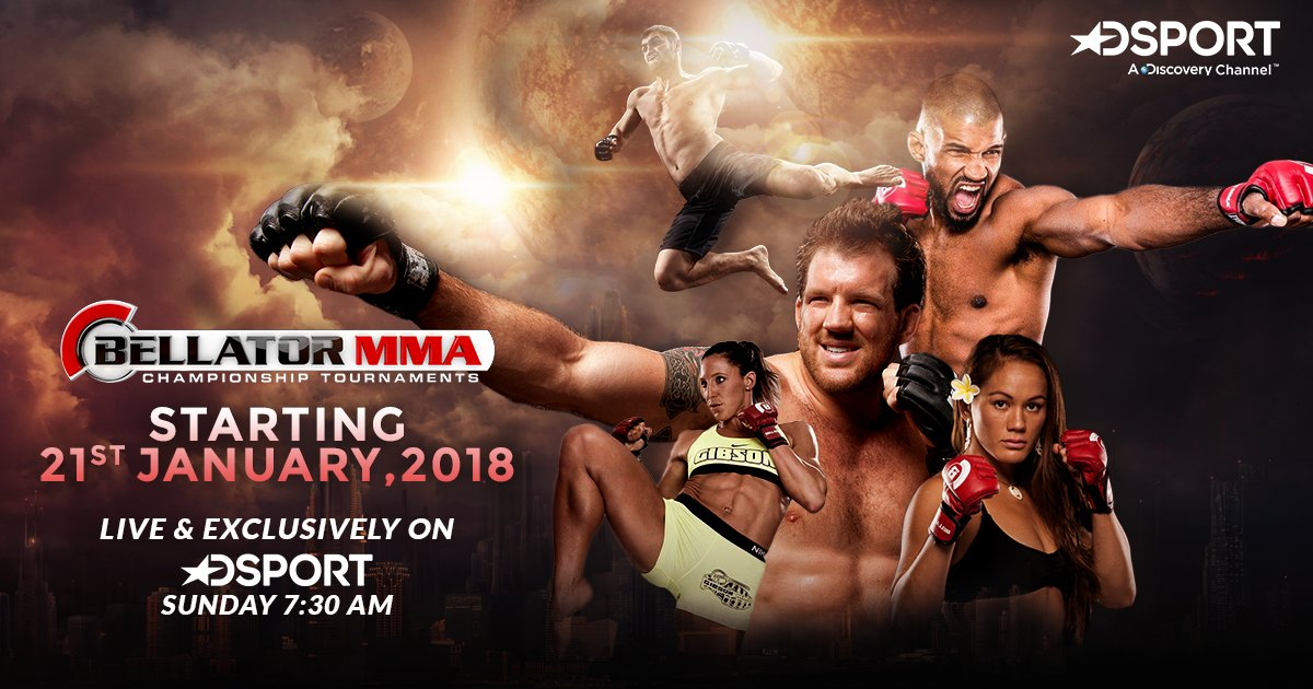 D Sport acquires India rights for Bellator MMA -