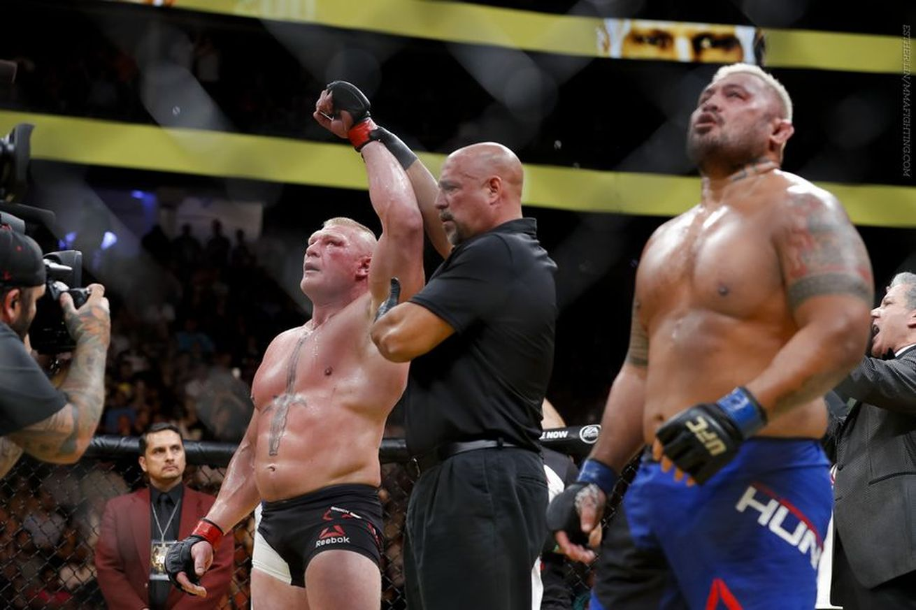 Does Lesnar retiring make a mockery of USADA and the UFC? -