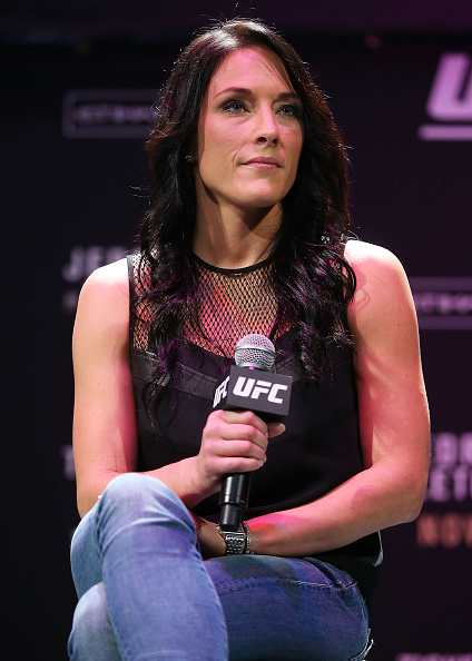Valerie Letourneau out of the UFC -