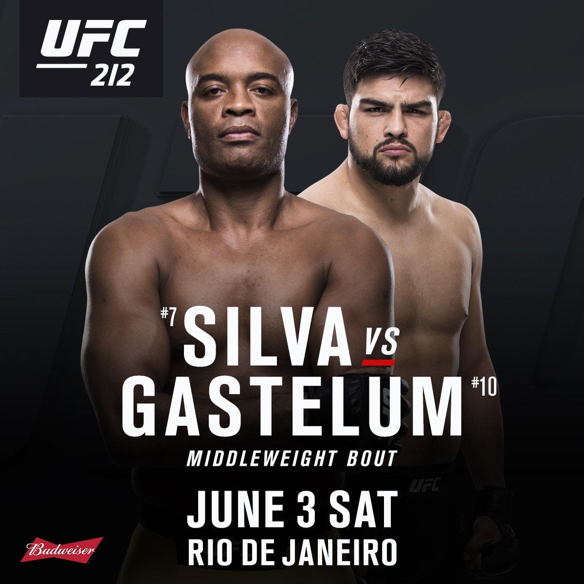 Gastelum gets Anderson at UFC 212 -