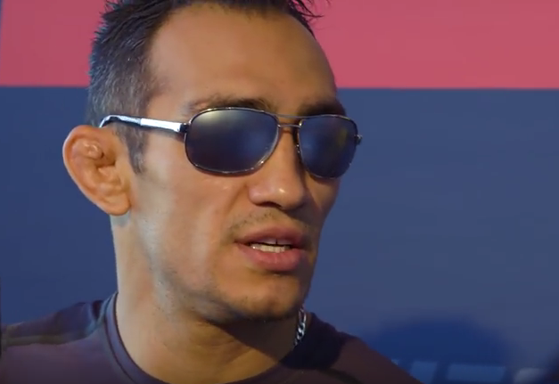 Tony Ferguson doesn't get to choke anyone and cashes a substantially smaller cheque