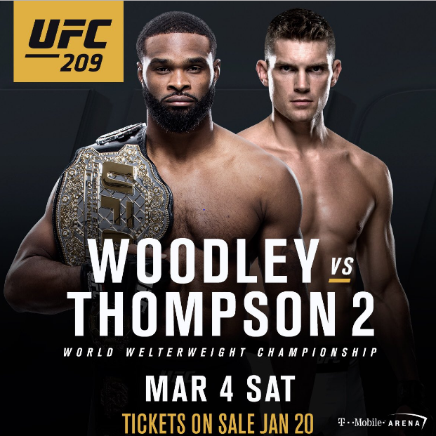 UFC 209: Preview and Predictions -