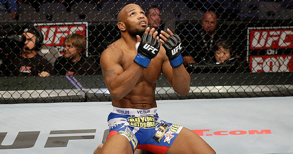 Yoel pitches for fight with Anderson Silva -