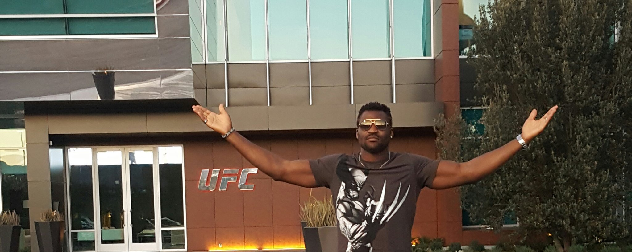 Francis Ngannou: What happens in Vegas.... -