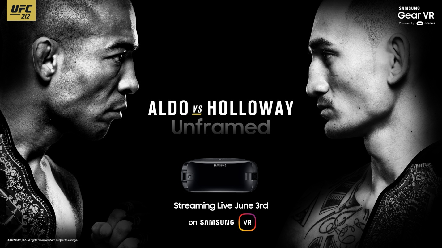 Samsung to air UFC events in Virtual Reality! -
