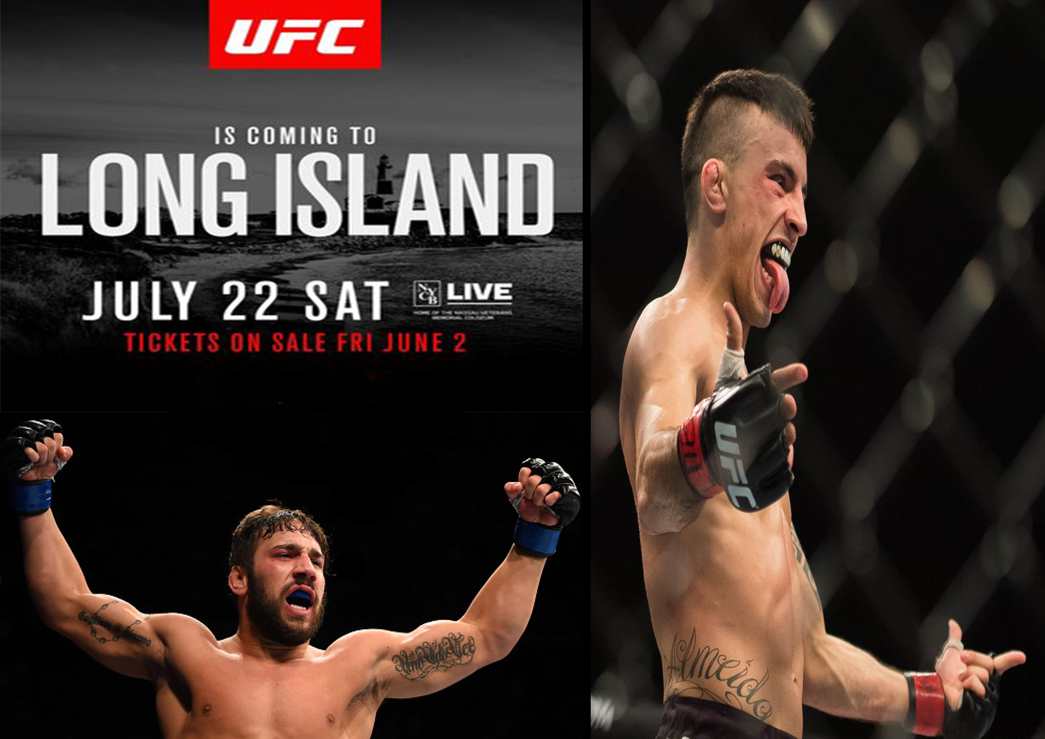 Exciting Bantamweight Fight Booked for UFC Long Island -