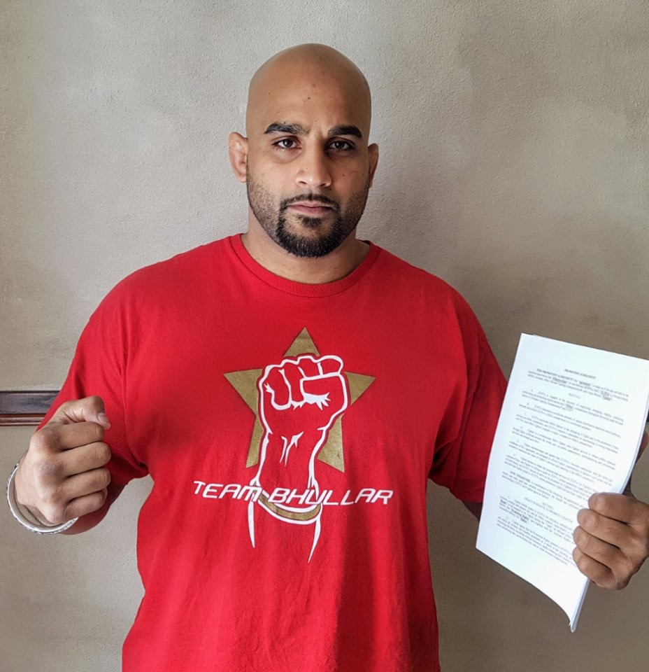 Arjan Singh Bhullar becomes the first Indian to make it to the UFC -