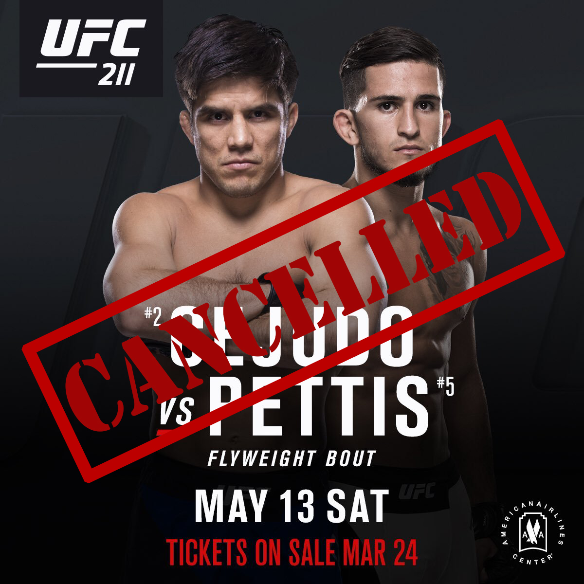 Sergio Pettis vs. Henry Cejudo fight called off after Cejudo fractures hand -