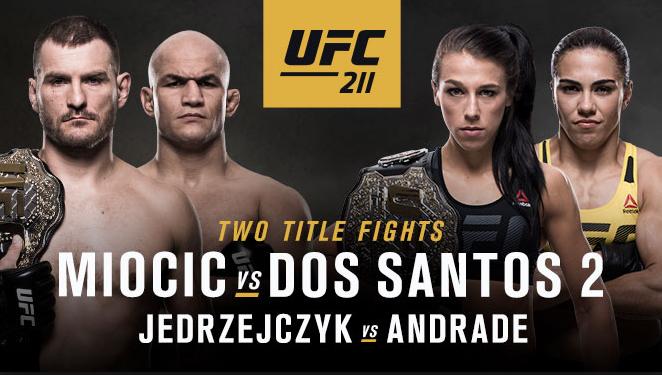 Taking A Peek Into: UFC 211 -