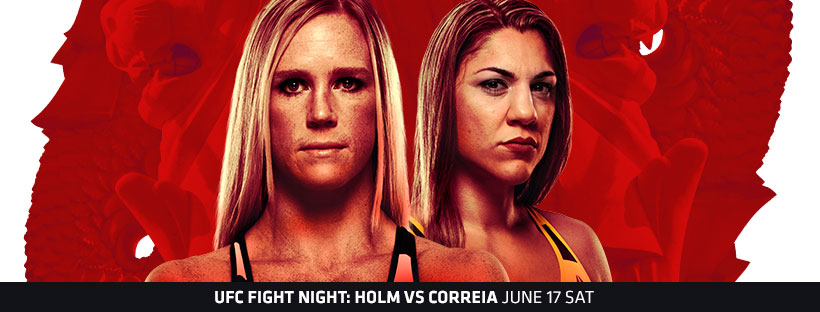 UFC Fight Night 111: Holm vs. Correira - Predictions -
