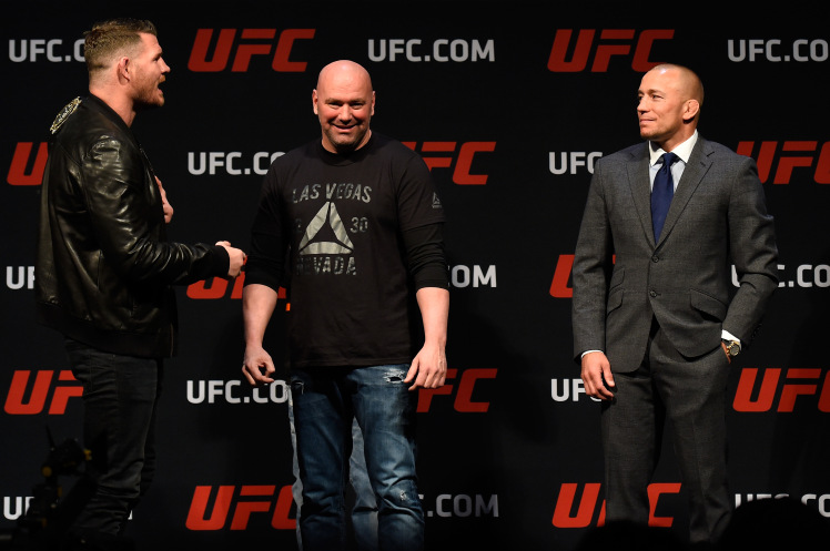 Lock kiya jaye ? GSP vs Bisping at UFC 217 -