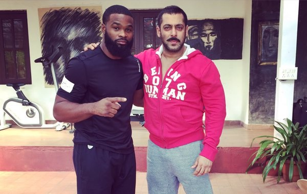 Tyron Woodley talks Salman Khan and Sultan -