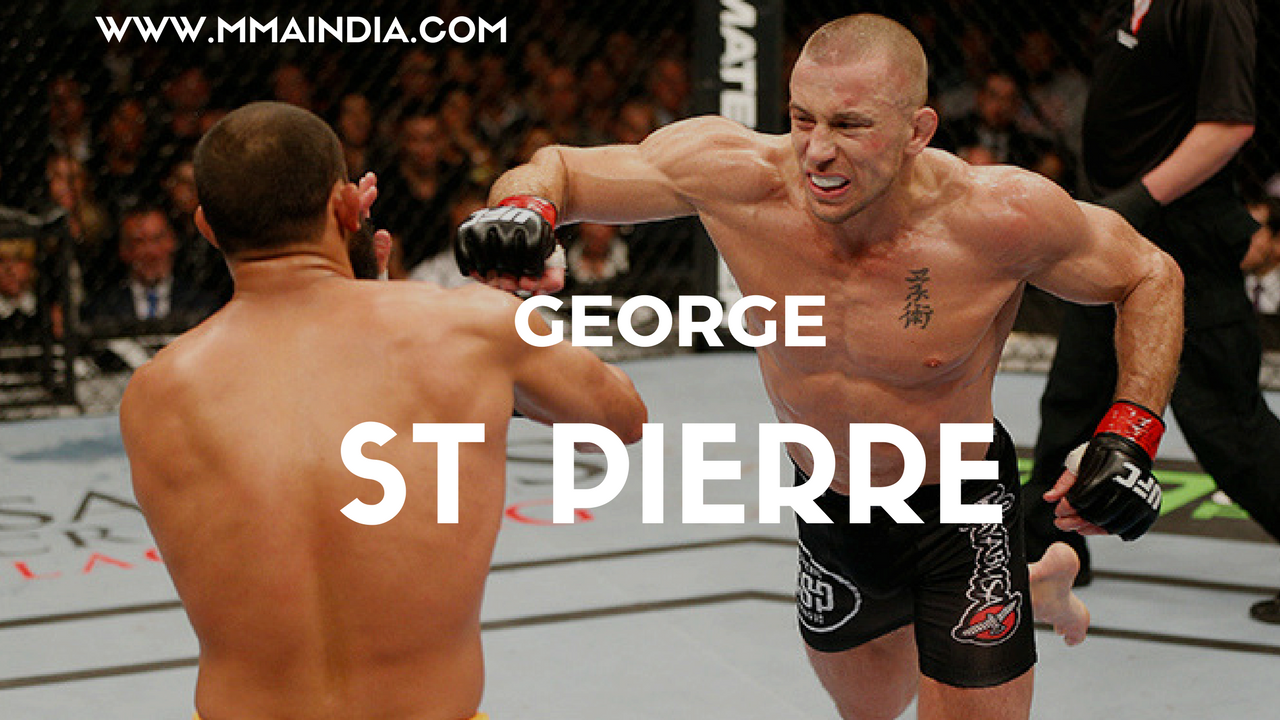 GSP finally has the fight that's actually going to happen. -
