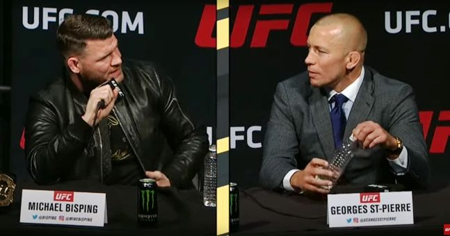 Bisping claims fight with GSP confirmed for UFC 217 -