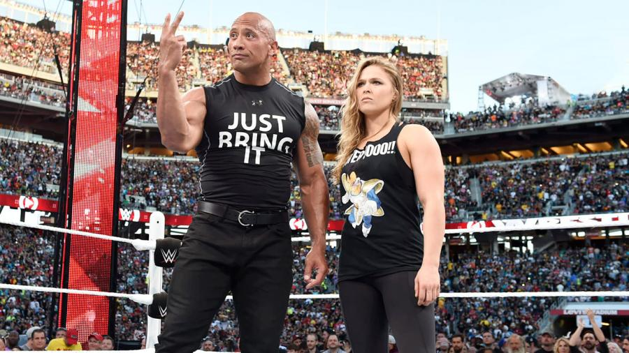 Ronda Rousey in a WWE storyline. Could this be her new career? -