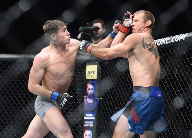 UFC Fight Night 118 Results: Darren Till TKO's Donald Cerrone in the First Round, Then Challenges Mike Perry. -
