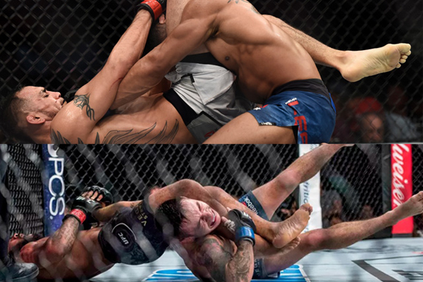 UFC 216 Results: Ferguson Submits Kevin to Win Lightweight Interim Title, Demetrious Makes History with 11th Title Defence -