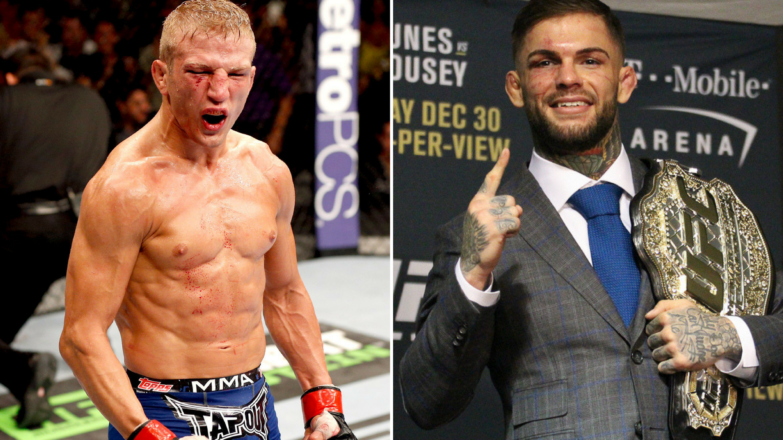 Interview: Cody Garbrandt takes a swipe at T.J. Dillashaw, says he doesn't believe in what he says -