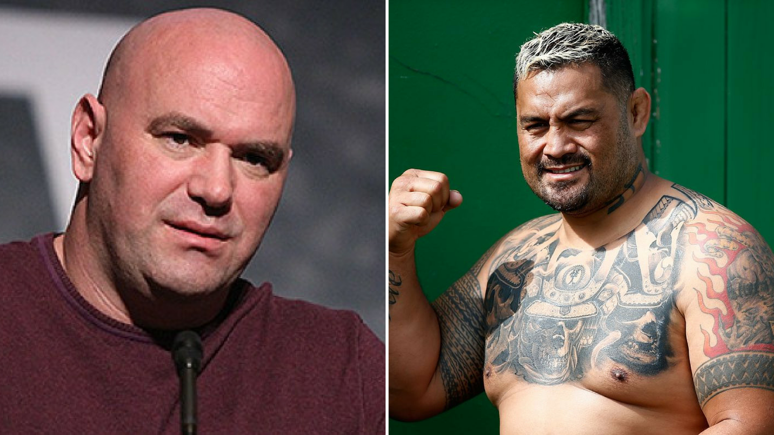 Dana White : I don't expect an apology from Mark Hunt -