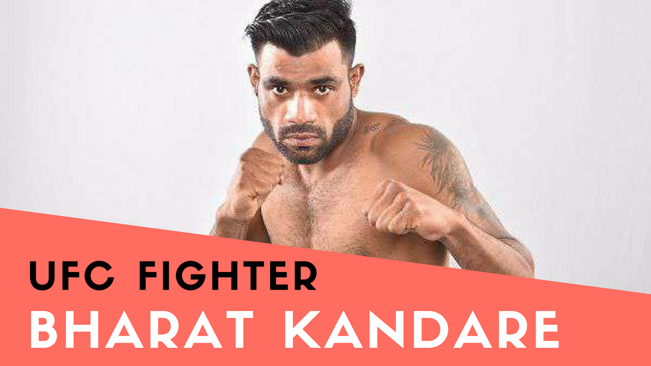 UFC News: Bharat Kandare is on his way back to the UFC! - first Indian fighter to ever compete