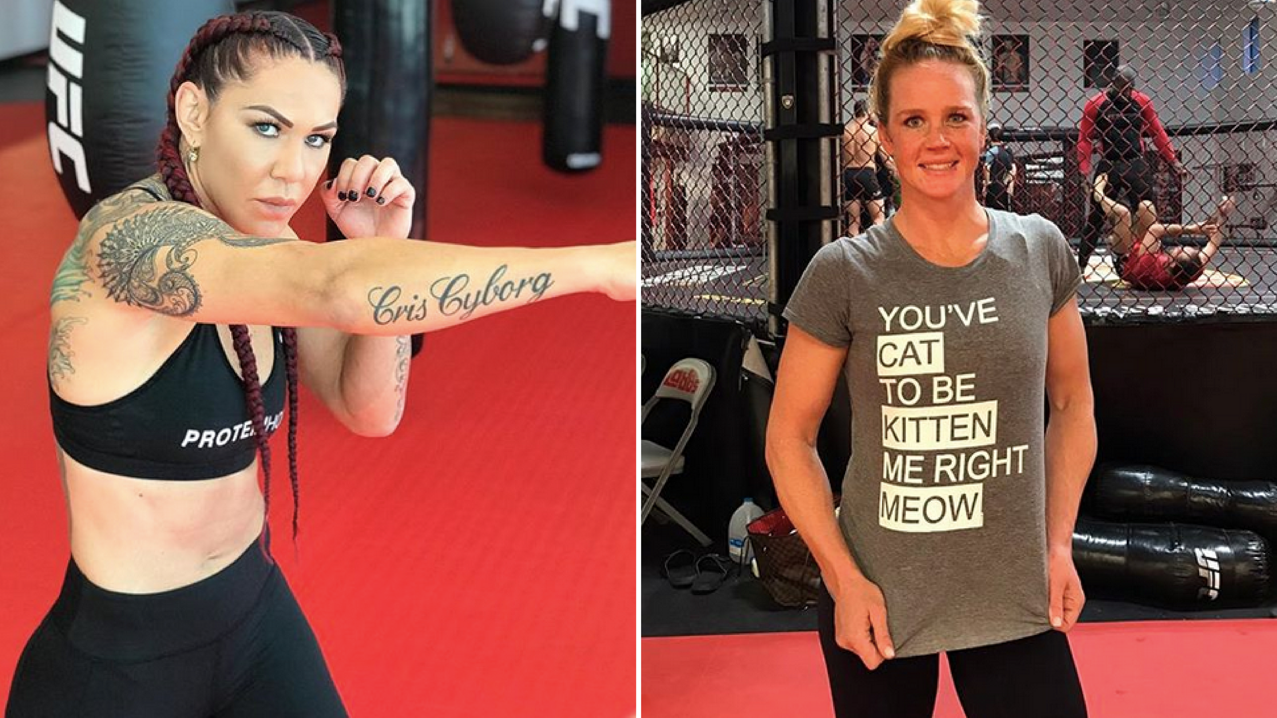 Cris Cyborg and Holly Holm fight is on for UFC 219 -