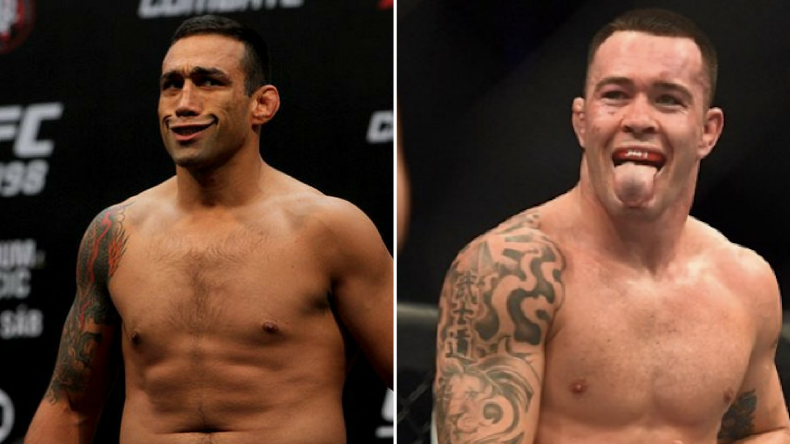 Colby calls the cops on Fabricio Werdum -