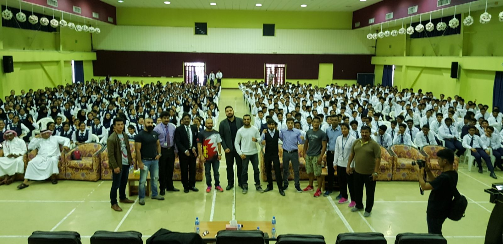 Before Brave title fight, Mangat drags crowd; becomes instant hero to students in Bahrain -