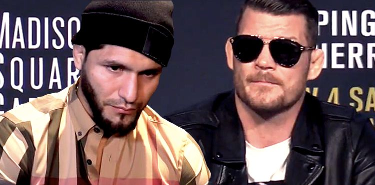Bisping and Masvidal clash once again for the second time this week! -
