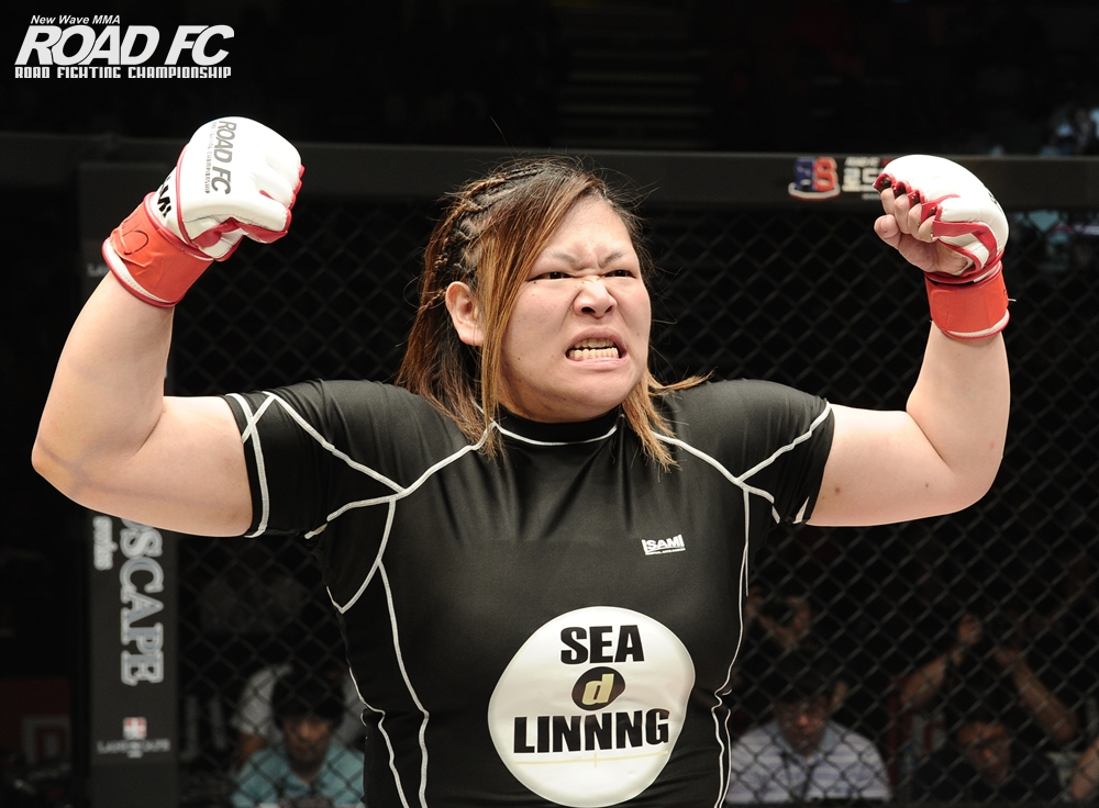 Yoshiko is back! at Xiaomi ROAD FC 045 XX on December 23 -