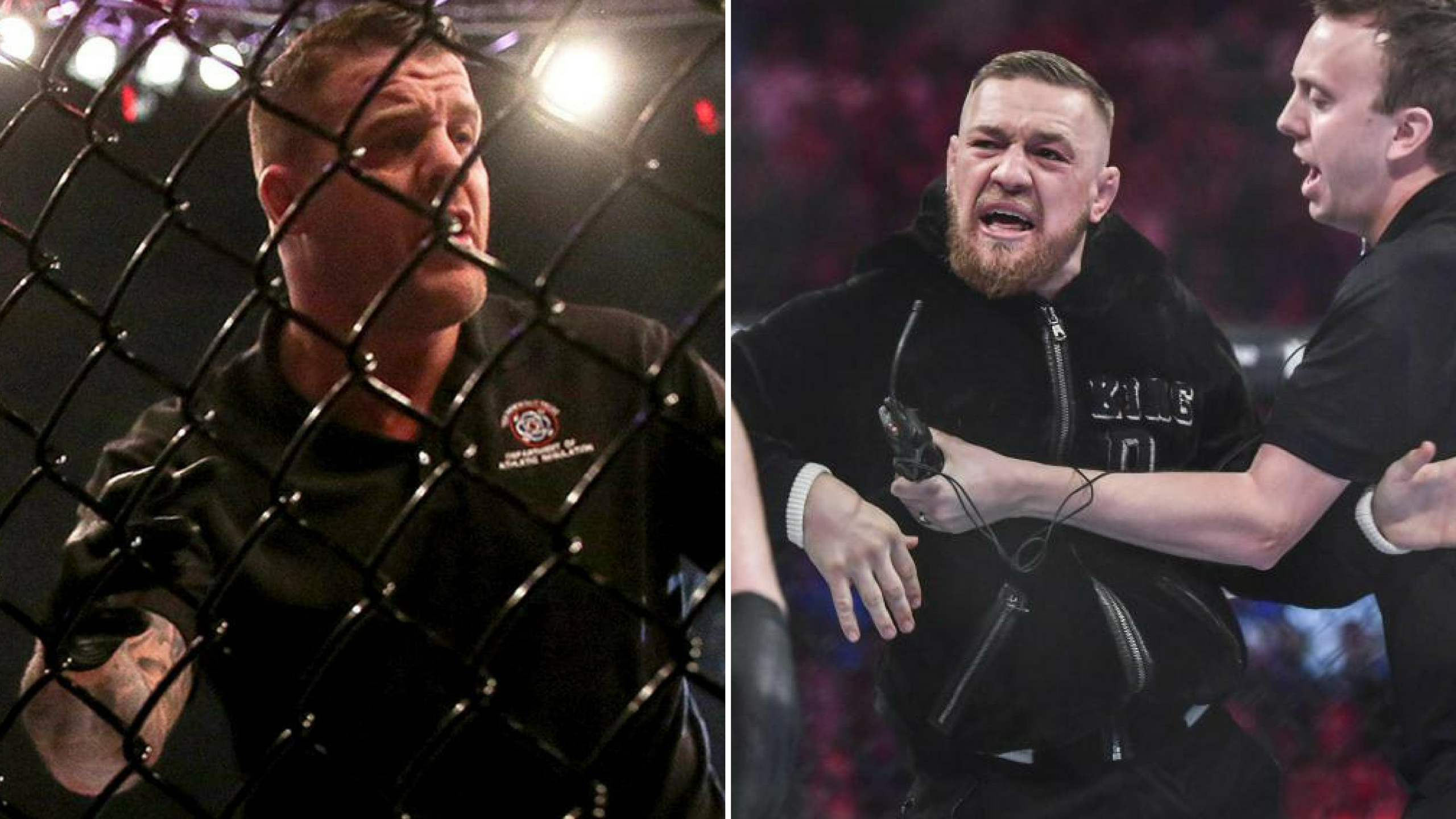 Conor Mcgregor and Marc Goddard issue statements about Bellator 187 -