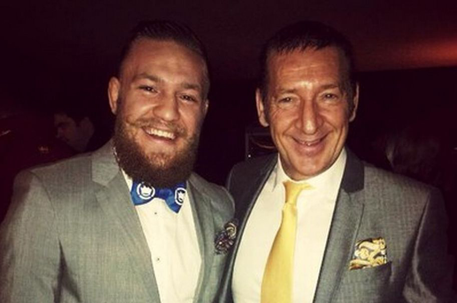 Conor McGregor's Dad rubbishes gangster rumours -