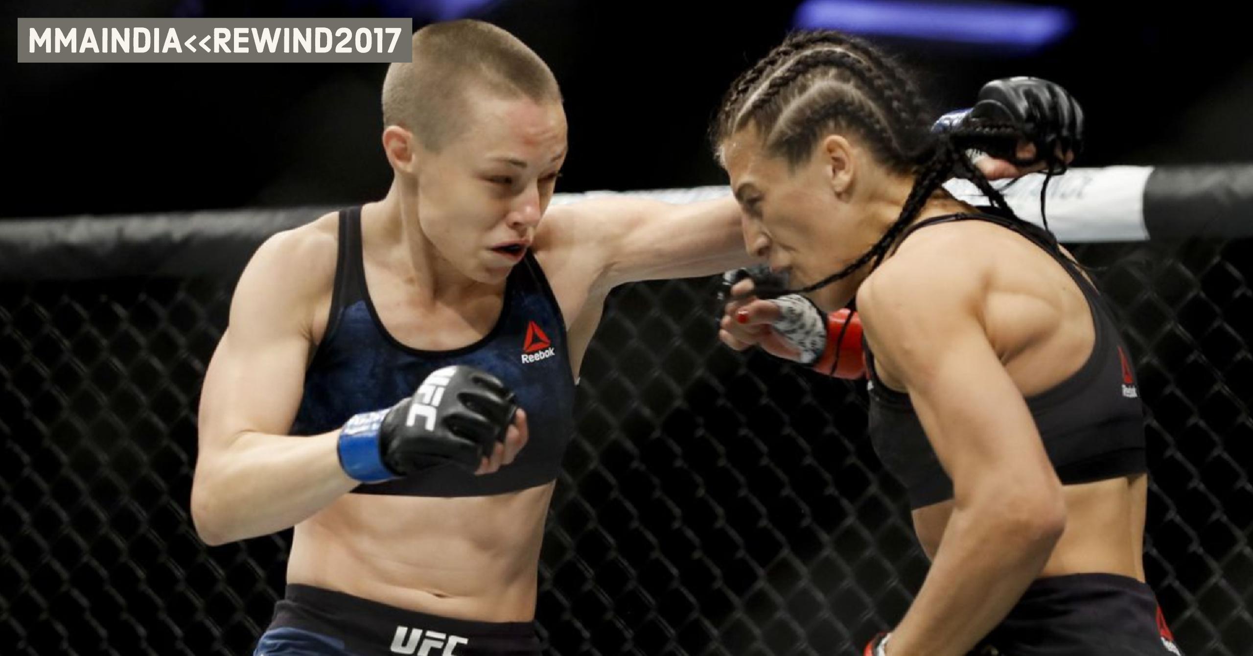 15 Best Women's MMA Fights of 2017 -