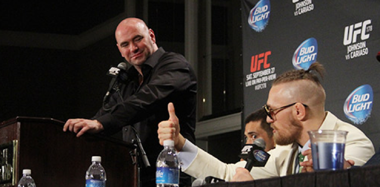 Dana White 'confirms' where Conor McGregor 'won't' be fighting next -