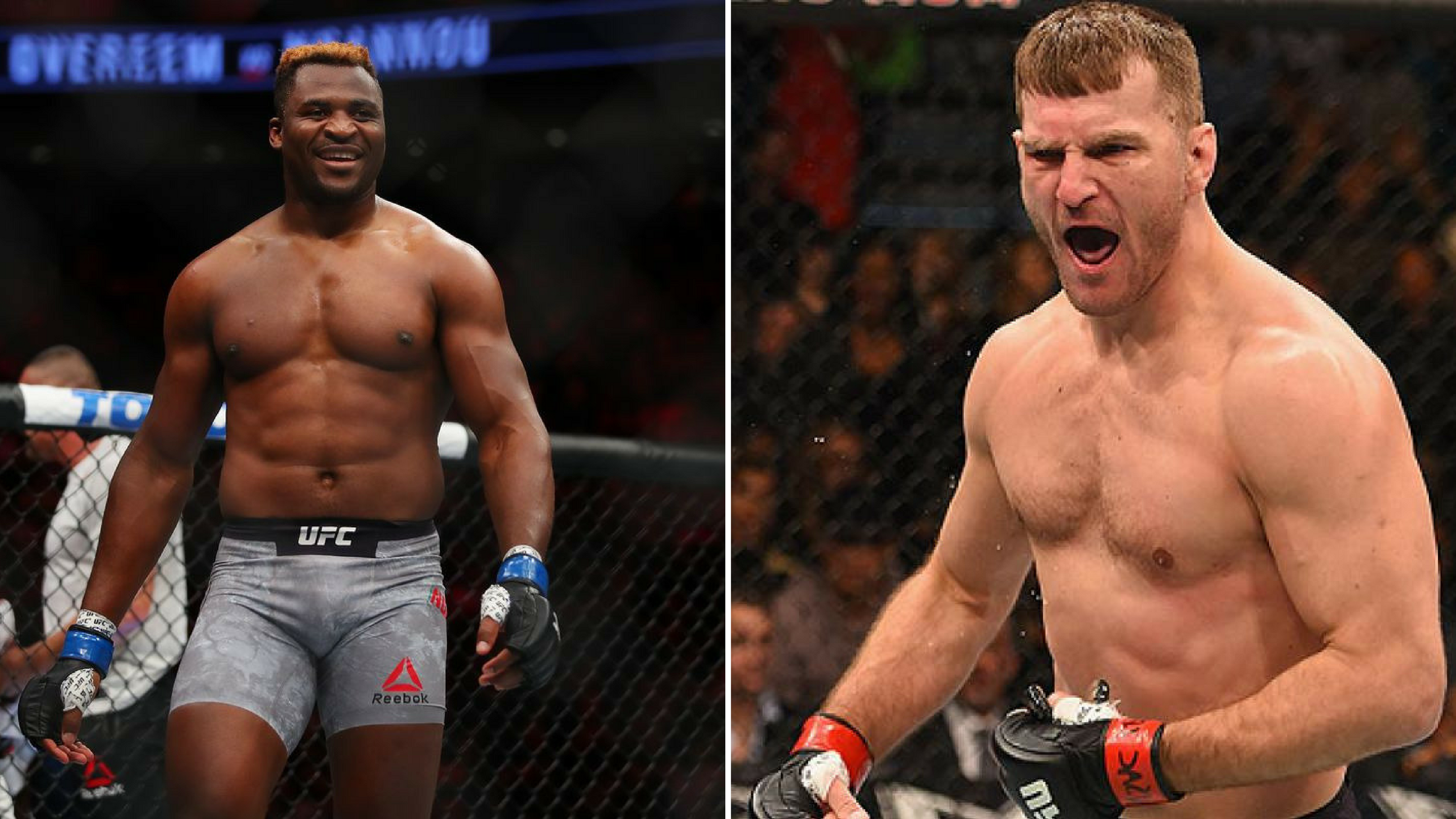 UFC is targeting Stipe Miocic vs Francis Ngannou fight for April 2021 - Ngannou