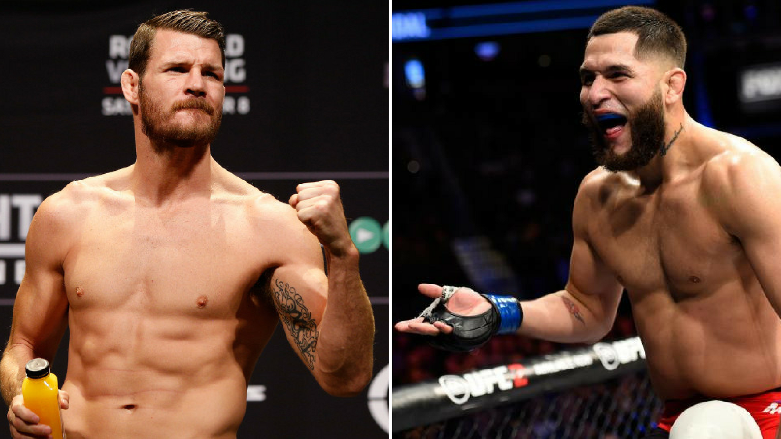 Michael Bisping is not going to argue with Jorge Masvidal -