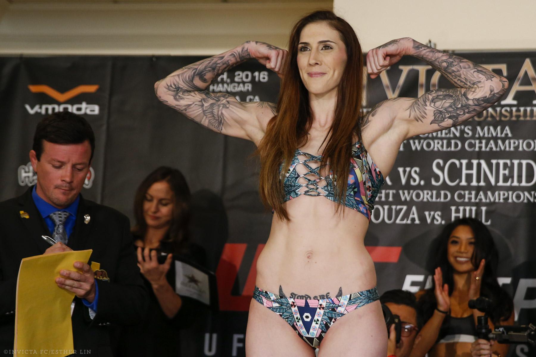 Megan Anderson refutes rumours of Cris Cyborg fight at UFC 221 -