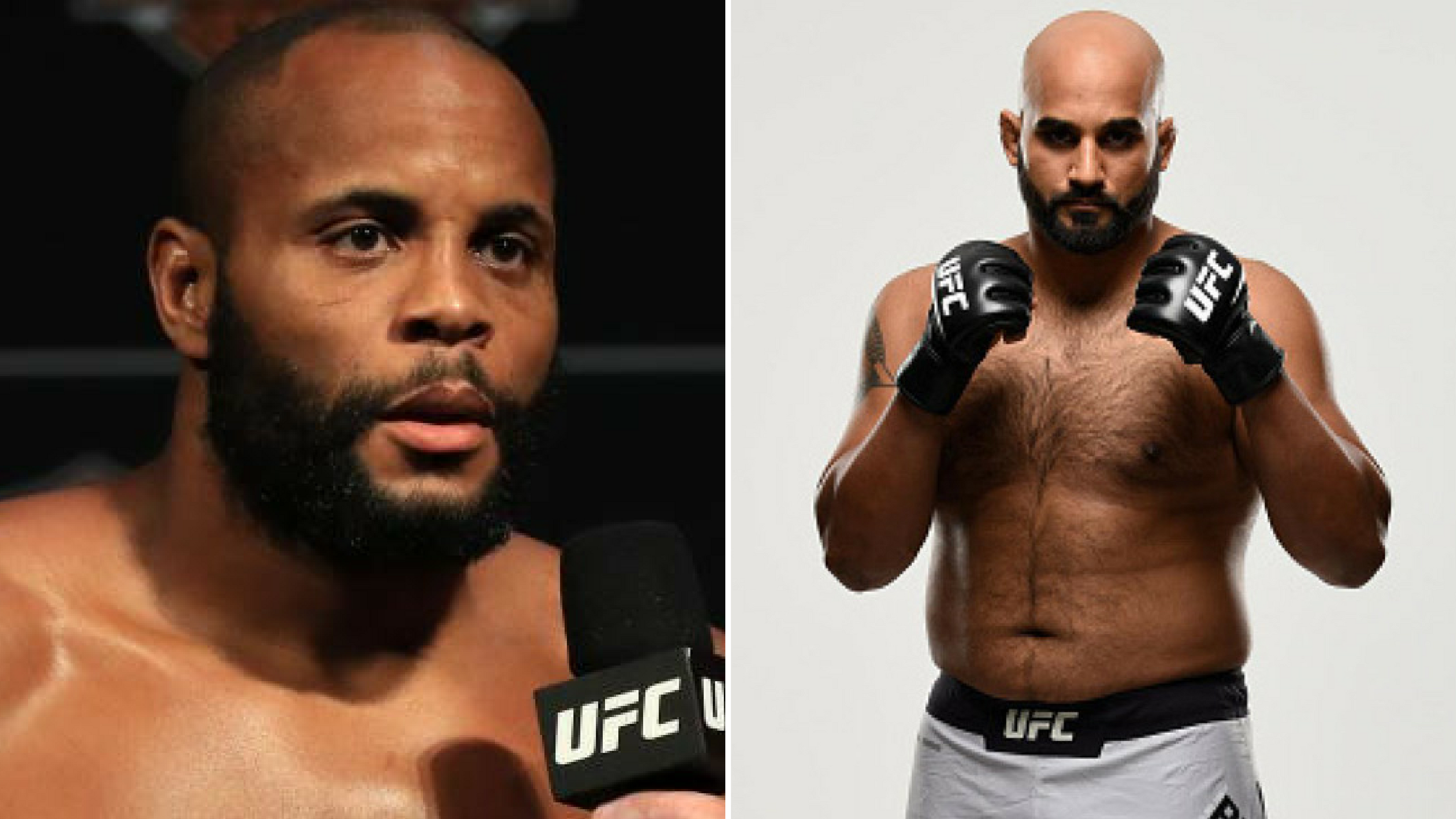 Daniel Cormier on Arjan Bhullar: He's actually much more advanced in the stand up than i was at that point' -