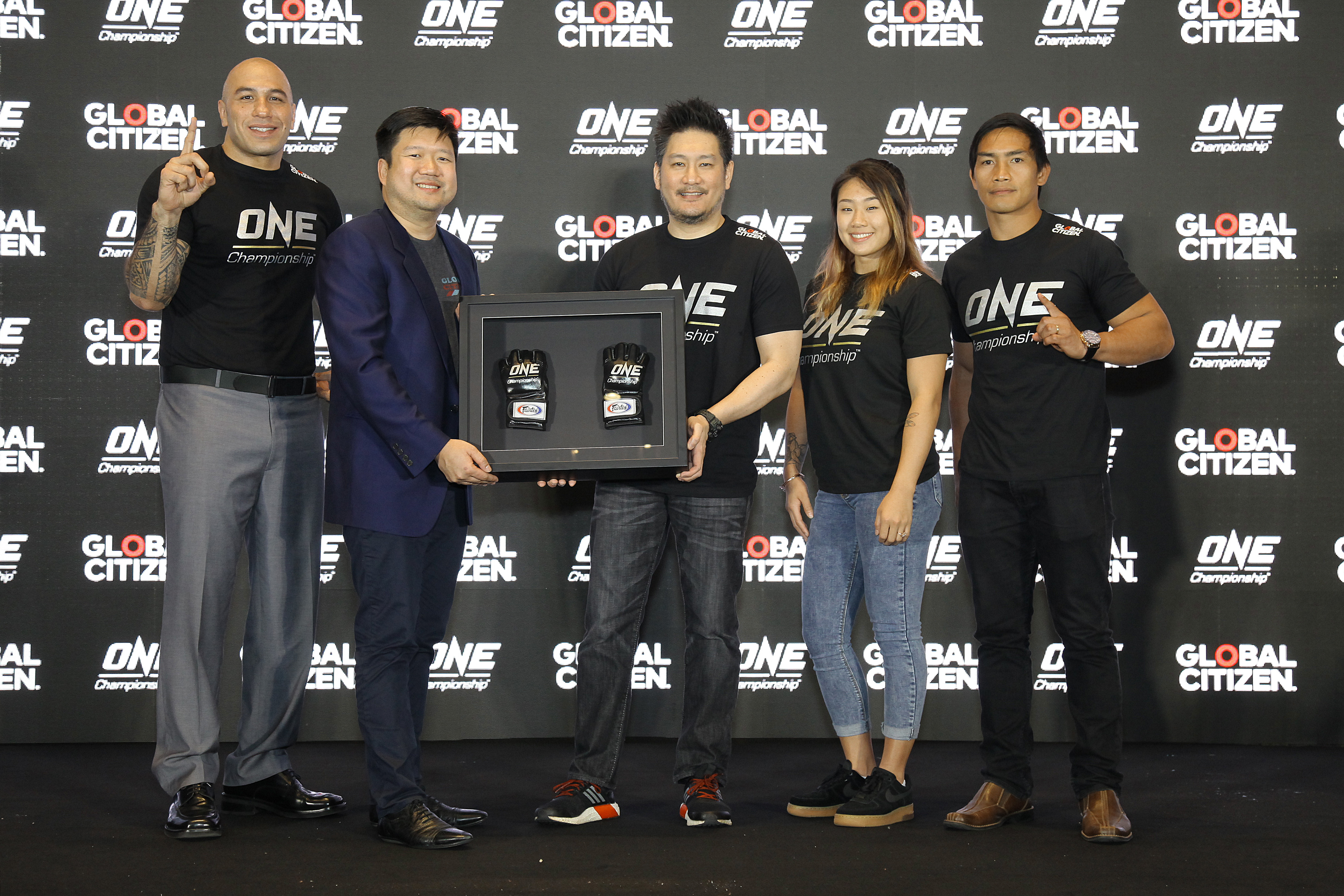 ONE CHAMPIONSHIP AND GLOBAL CITIZEN TEAM UP TO END EXTREME POVERTY BY 2030 -