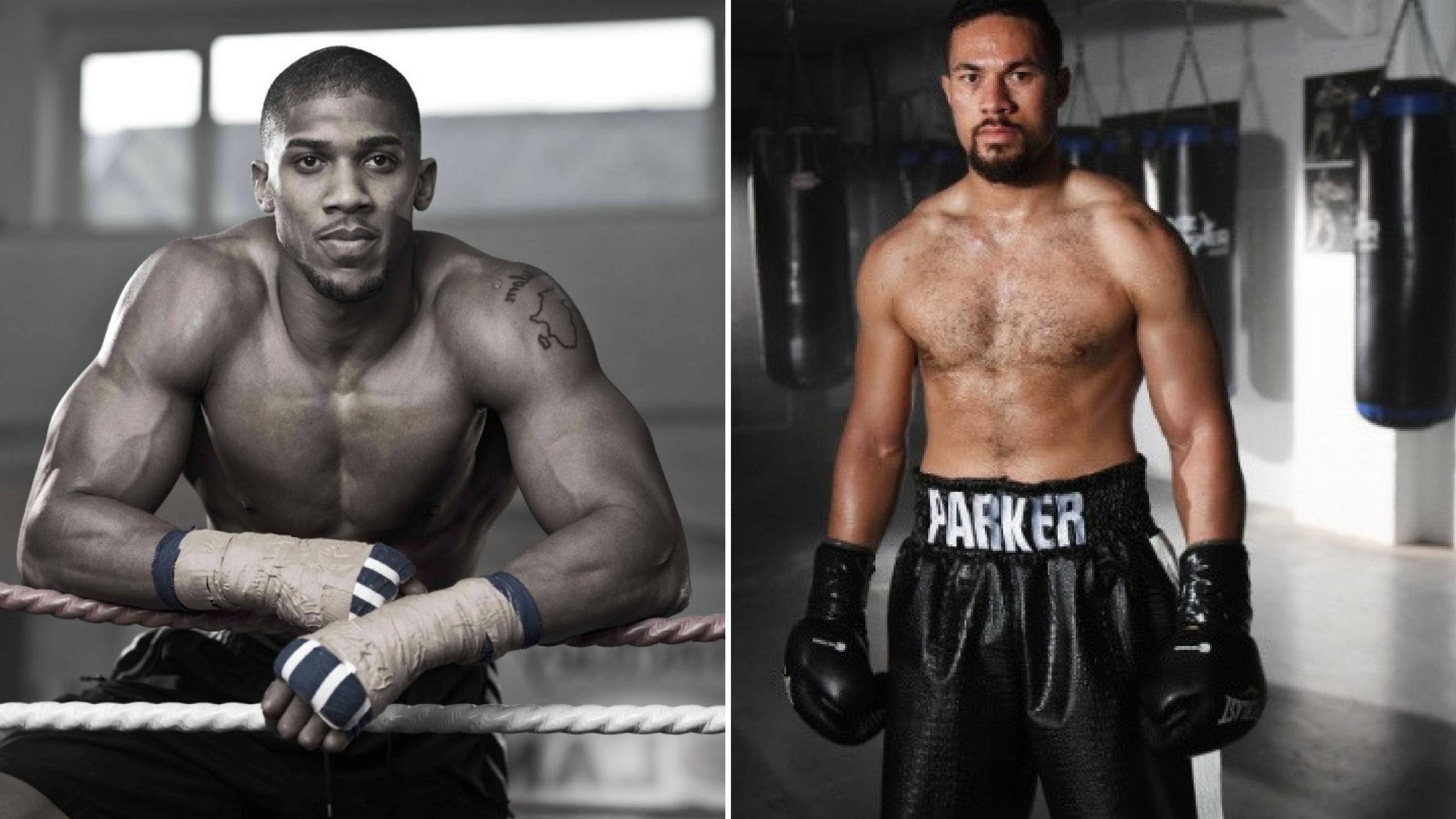 Anthony Joshua vs Joseph Parker on March 31st for ...
