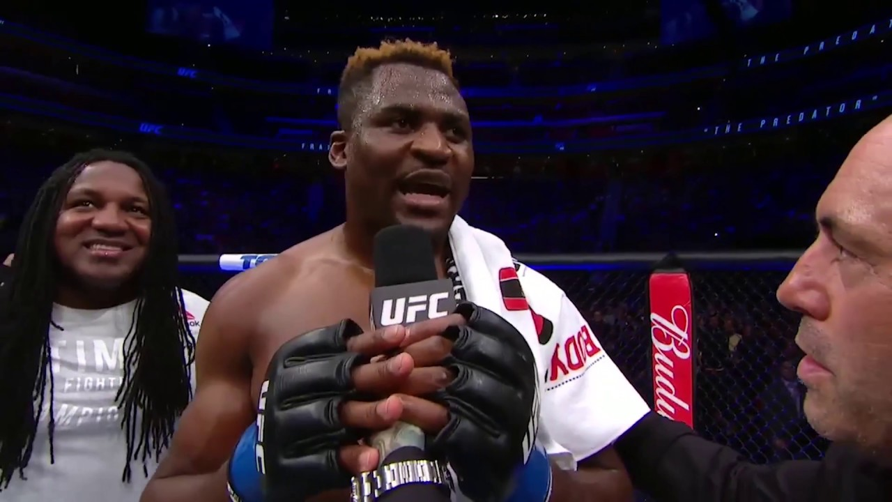 Who does Francis Ngannou want to fight after UFC 220? -