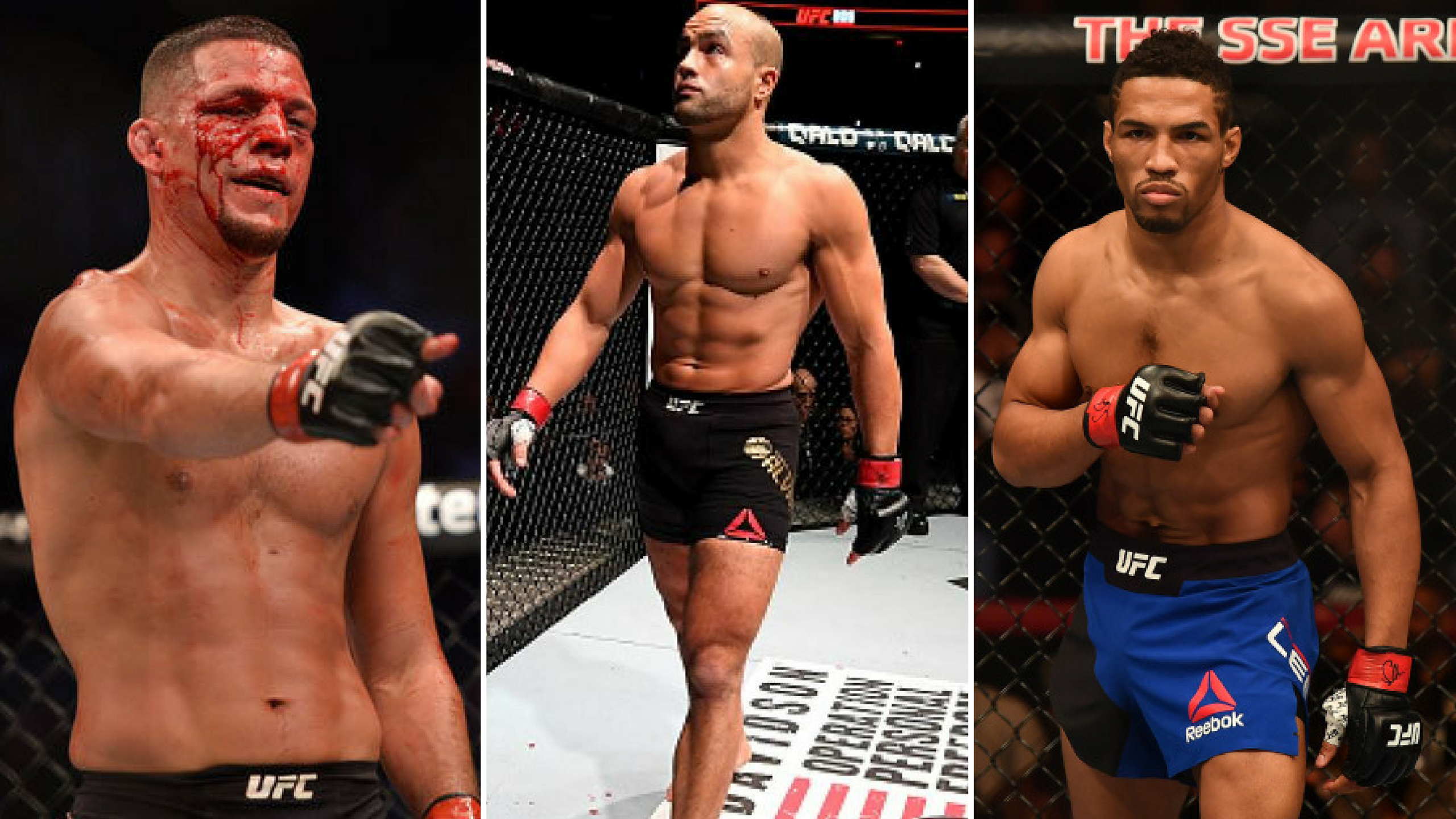 Eddie Alvarez and Kevin Lee reply to Nate Diaz's call out - Nate Diaz