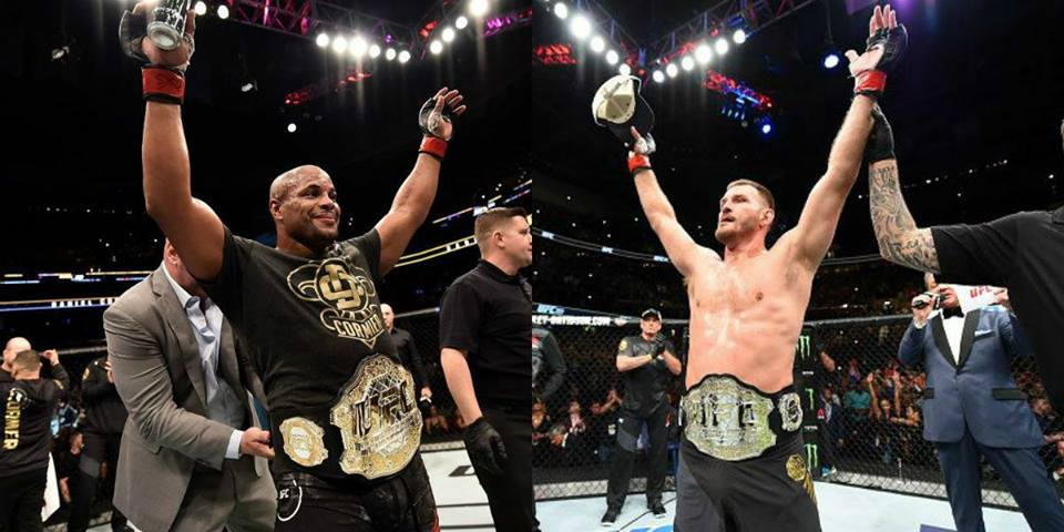 Daniel Cormier called Stipe Miocic and then decided the number -